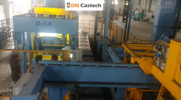 DiSa Mach 24 x 28   Horizontal Flask less  Automatic Molding  Line